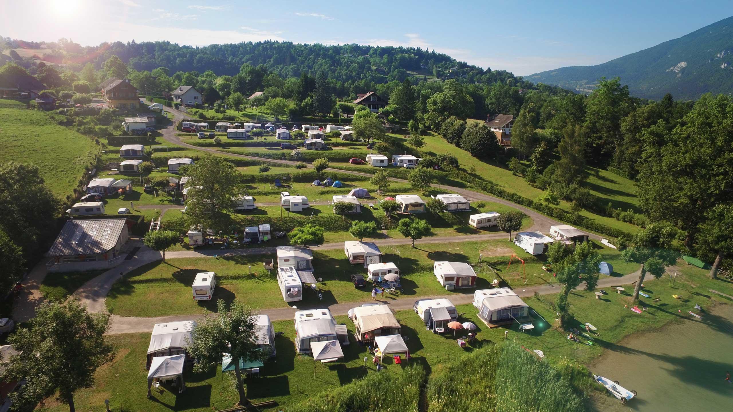 Accueil - Camping Bellevue Situé à Aiguebelette En Savoie