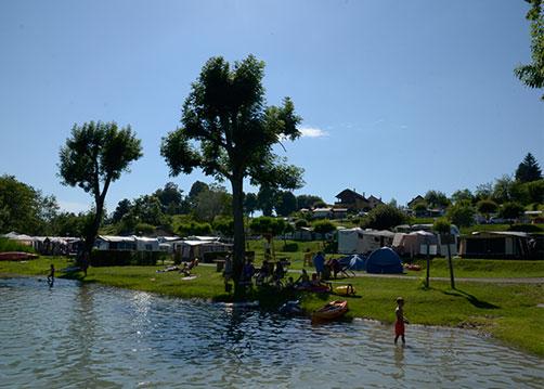 Accueil  Camping Bellevue Situ  Aiguebelette En Savoie